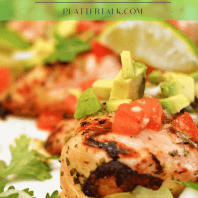Cilantro-Lime Grilled Chicken with Avocado Salsa