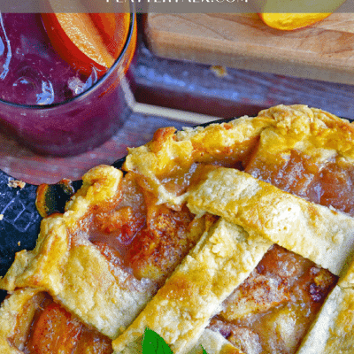 Peach Pie and Pie Crust Recipe
