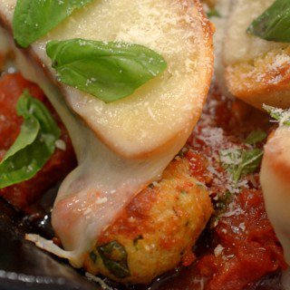 Chicken Meatball Sub Casserole