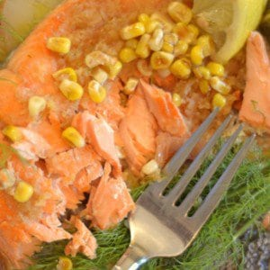 Sockeye Salmon with Ginger Fennel Sauce food seafood salmon grillhellip