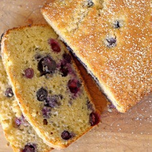 BlueberryGinger Bread sweet recipe simple dessert plattertalk delicuois bluberries breadhellip