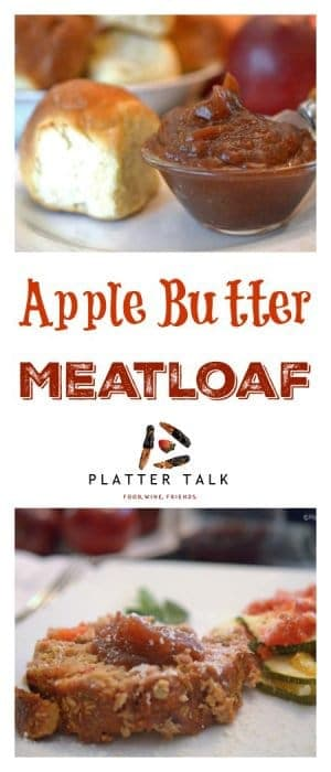Apple Butter Meatloaf combines the quintessential fall flavors of apple buttr to a classic Amerrican comfort fod.