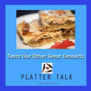 Desserts on Platter Talk