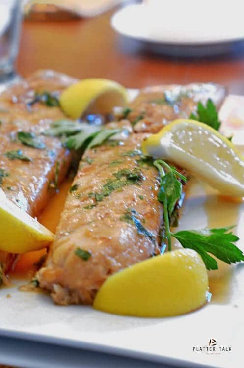 This is a healthy haddock recipe that is baked in the oven.