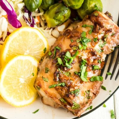 Ginger-Soy Glazed Haddock Recipe