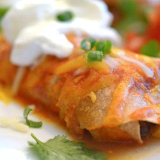 Steak and Beef Enchiladas
