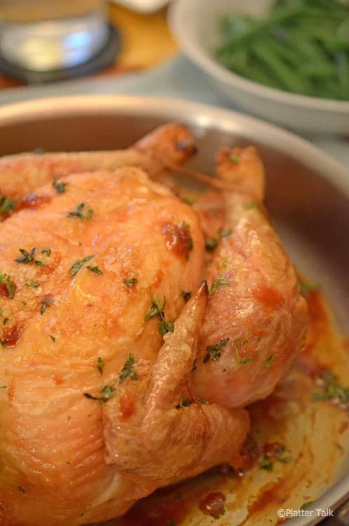 Simple Roast Chicken - Inspired by Chef Thomas Keller - From Plater ...