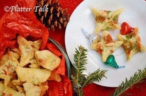 Holiday Wonton Kisses ©Platter Talk