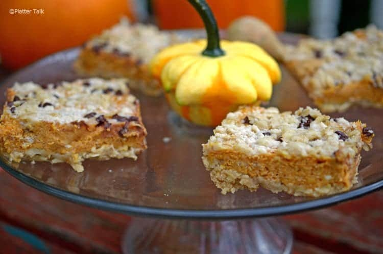 A close up of food on a table, with Pumpkin