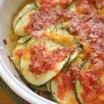 Zucchini and Paremsan Bake