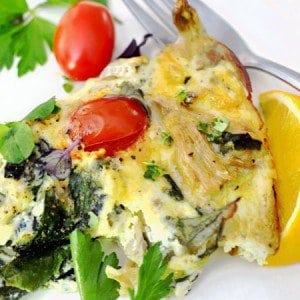 Crustless Veggie Quiche healthy recipe food delicious yummy glutenfree farmersmarkethellip