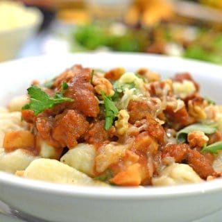 Sage & Apple Butter Sauce with Gnocchi