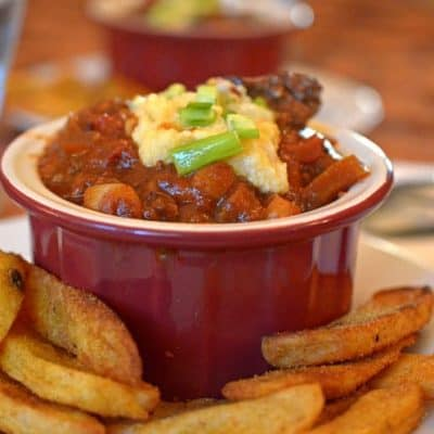 Texas-Style Chili with Hominy