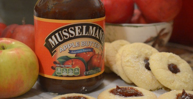 Scottish Tea Cookies with Apple Butter