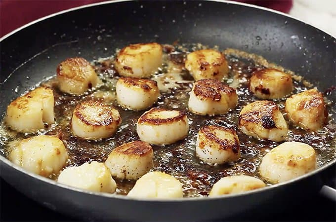 how to cook scallops youtube