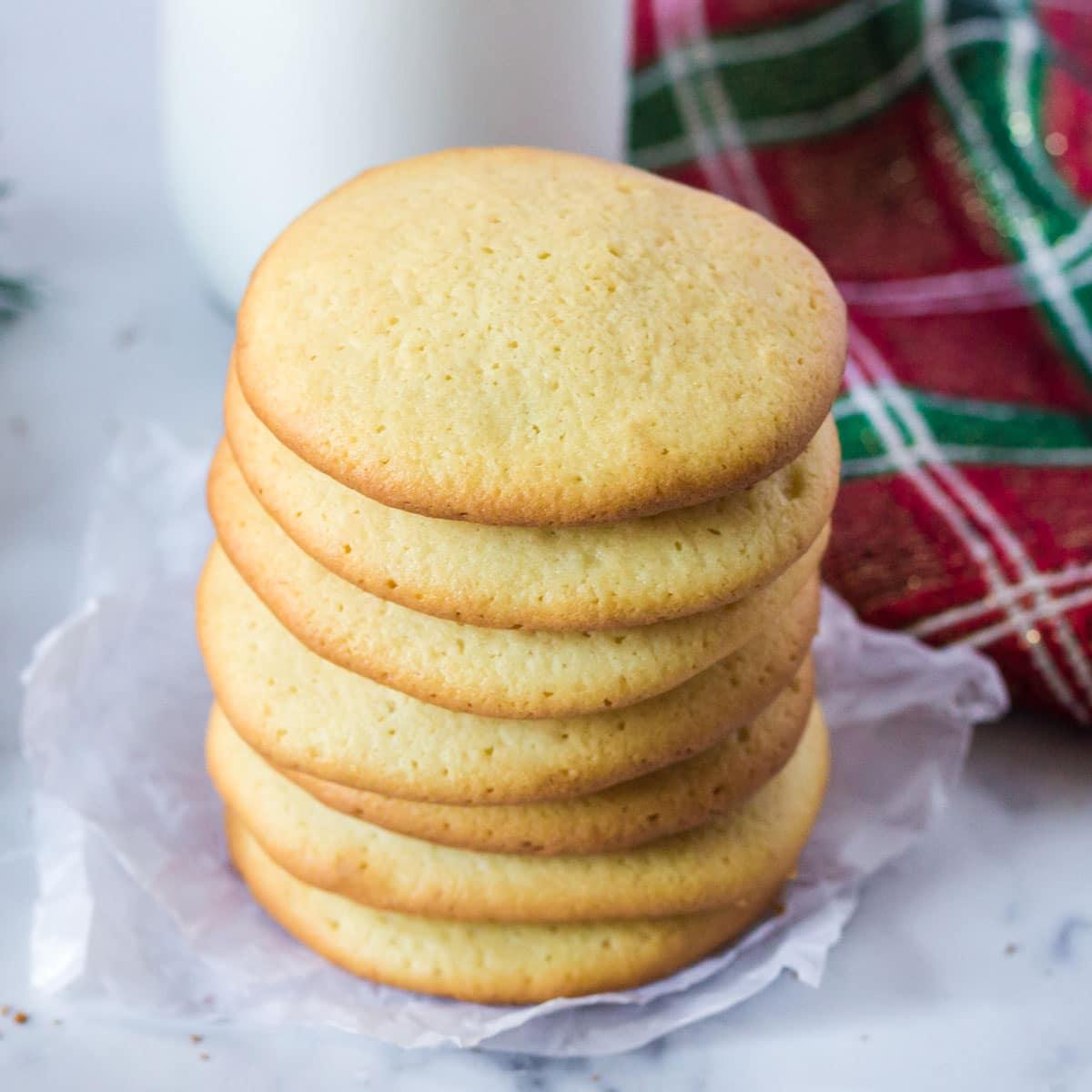 Amish Sour Milk Sugar Cookies Simple Cookie Recipe Platter Talk