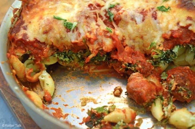Skillet Lasagna Recipe from Platter Talk