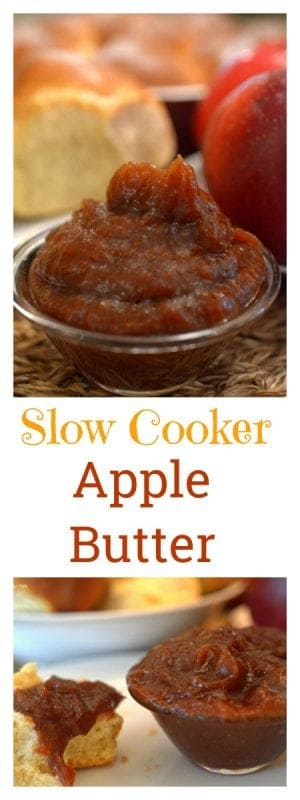 This slow cooker apple butter is an easy and delicoius way to celebrate the autumn season and all of its glory.