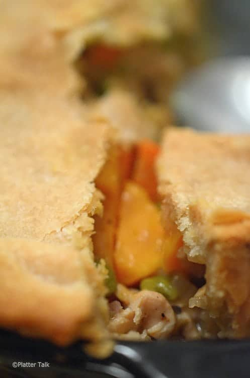 Sweet Potato & Chicken Pot Pie