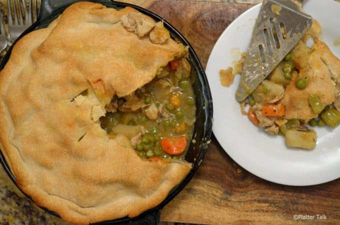 Sweet Potato and Chicken Pot Pie