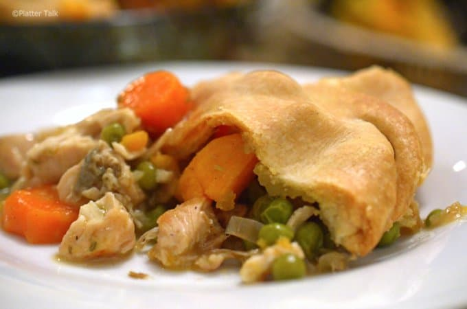 Sweet Potatoe Chicken Pot Pie