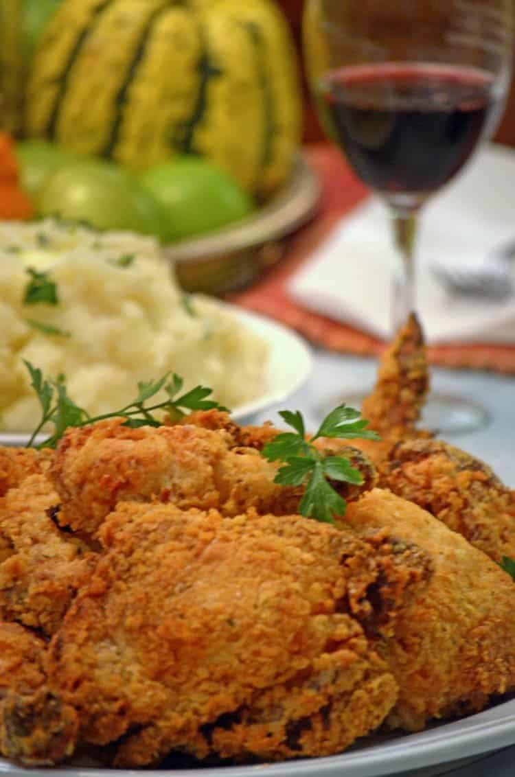 Oven Fried Chicken Easy Fried Chicken Recipe Platter Talk