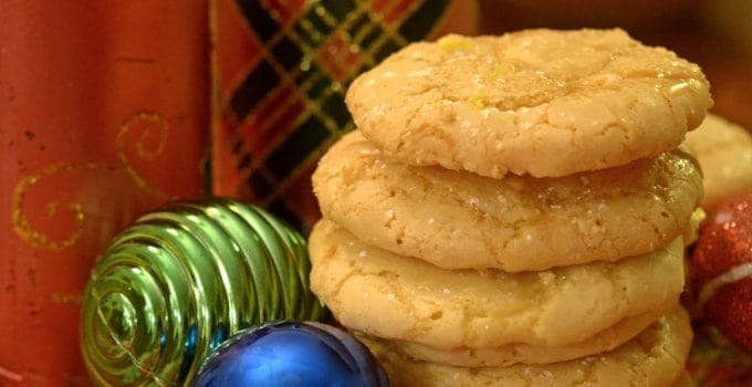 Lemon Ice Cookies