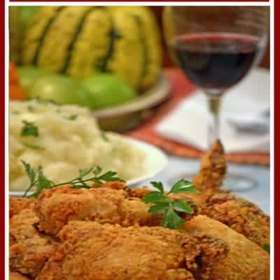 """Oven """"Fried"""" Buttermilk Chicken"""
