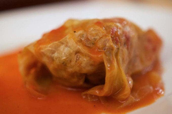 The Platter Talk Top 10 of 2014. Number 3 - Golumpki (Gołąbki, Stuffed Cabbage.) ©Platter Talk.