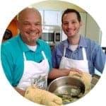 Photo of Dan and Scott from Platter Talk