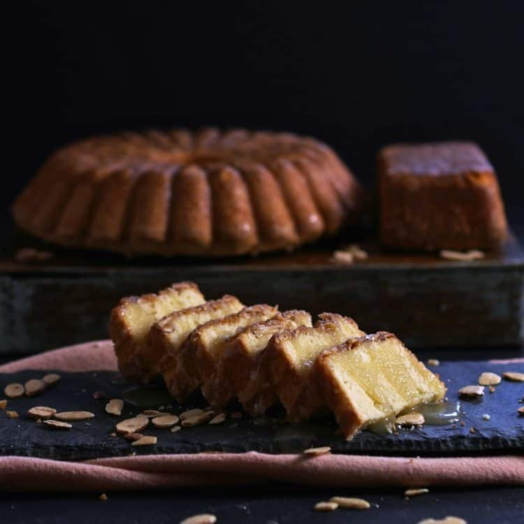 Almond Apricot Pound Cake With Amaretto