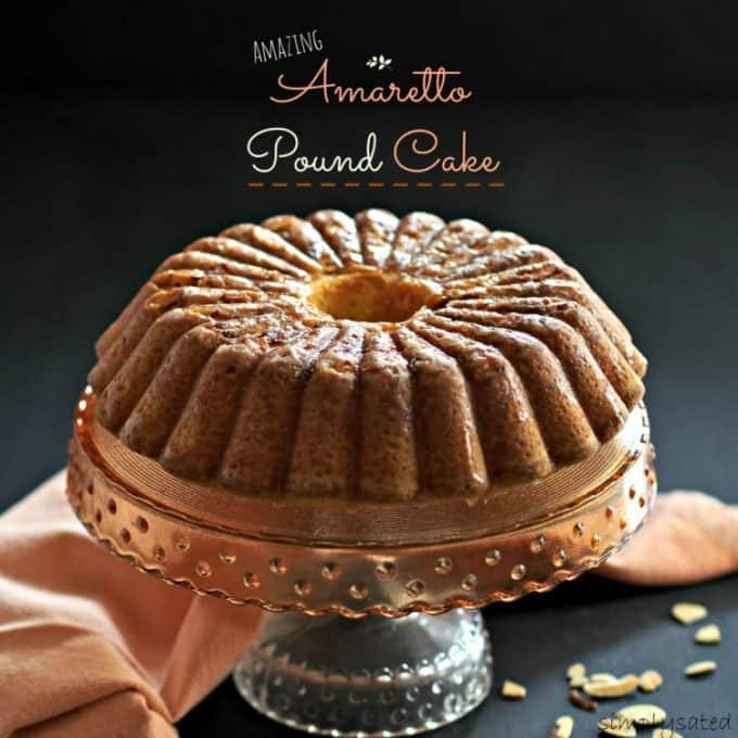 Amazing Amaretto Pound Cake