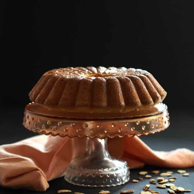 This special cake comes to Platter Talk food blog from simply sated.