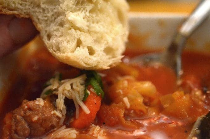 Hearty Italian Peasant Soup