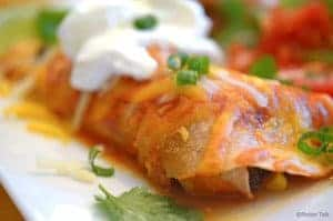 Our Steak & Beef Enchiladas