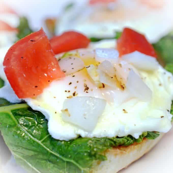 Kale and Egg Bruschetta