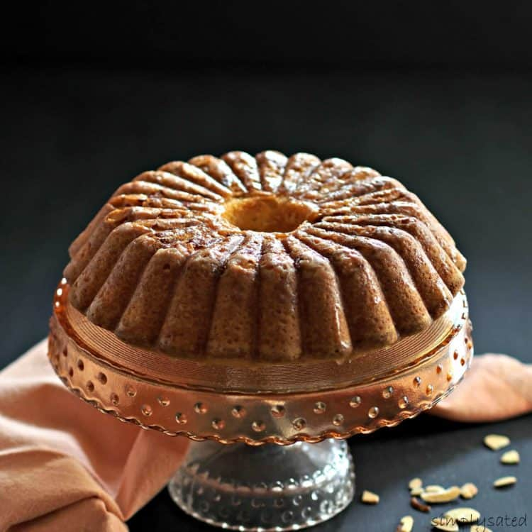 Amazing Amaretto Pound Cake - Platter Talk