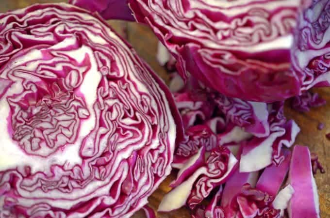 Savory Cabbage with Onion and Bacon