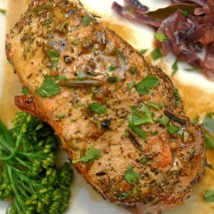 Cayenne Seared Pork Chops & Orange-Glazed Carrots - Simple ...