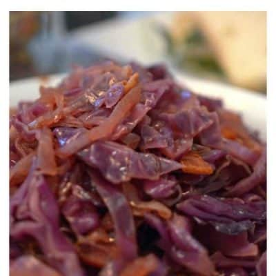 Savory Cabbage and Bacon with Onion