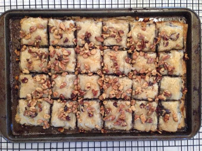 Brownie Baklava
