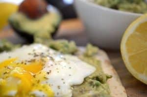 Crispy Egg and Avodcado