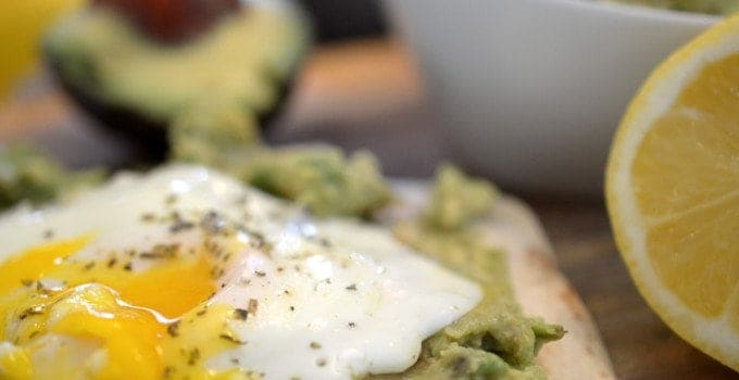 Crispy Egg and Avocado