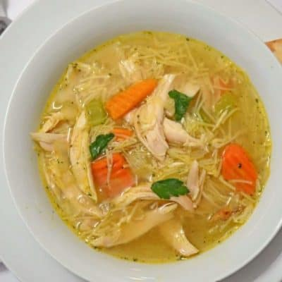 Chicken Noodle Soup Recipe Easy to Make