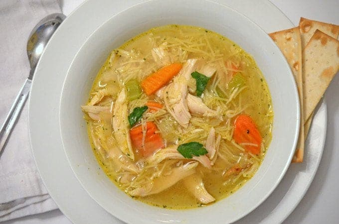 Chicken Noodle Soup Recipe Easy and Delicious