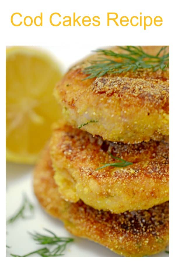 This Cod Cakes Recipe has all the tastes of an exotic dish without the hassle or expense you would expect. Flavors of dill, lemon and tabasco sauce all work to accent these cod fish cakes, making for a delicious seafood meal from your own kitchen at home.