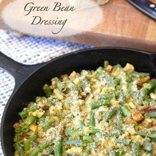 Green Bean Dressing Casserole from Platter Talk