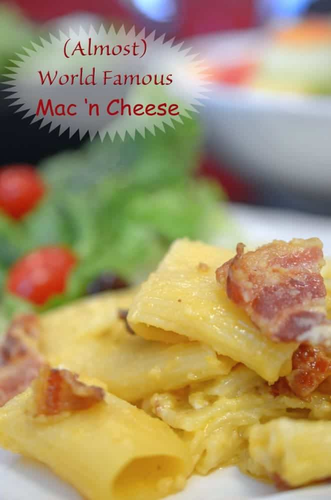 Best baked mac and cheese recipe from Platter Talk. Try this macaroni and cheese recipe soon!
