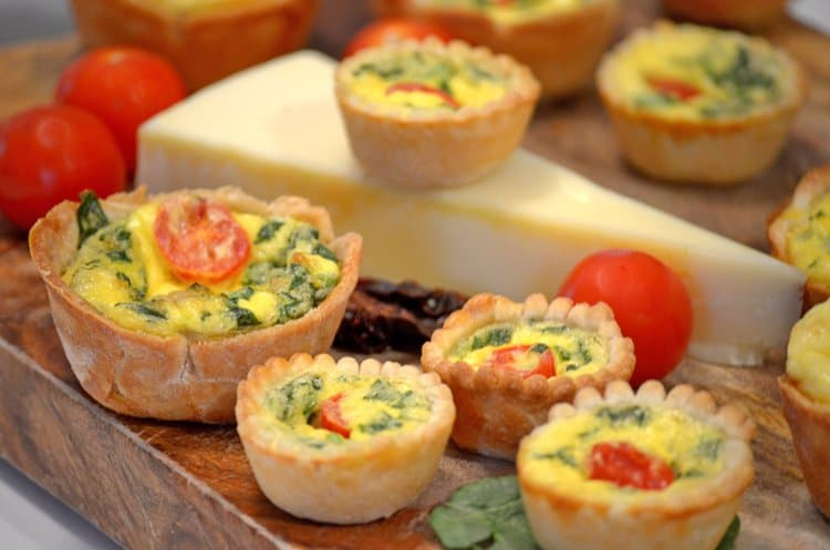 You are going to love to learn how to make mini quiche with this delicious recipe from Platter Talk food blog.