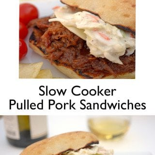 Slow Cooker Pulled Pork Sandwiches from Platter Talk